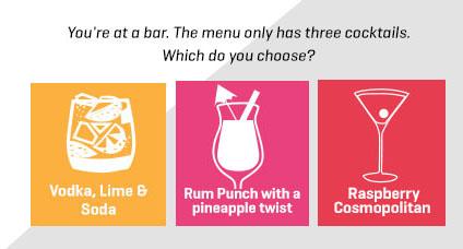 cocktail flavour question